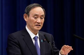 Een foto van de Japanse premier