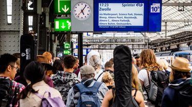 Langer stilstaande treinen, minder storing in 2018