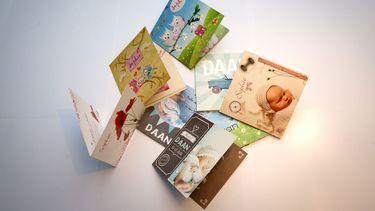 Geboortekaartjes met de populairste kindernamen