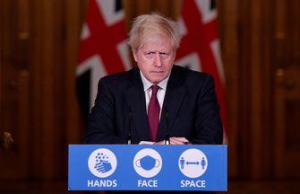 Foto van Britse premier Boris Johnson