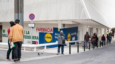 Spanjaarden moeten minstens 30 euro besteden het boodschappen doen