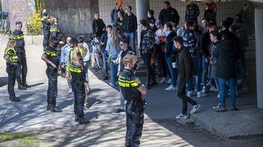 Politie, Koningsdag, druk, geweld, Vondelpark