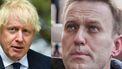 Boris Johnson en Navalni