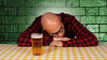Dronken inbreker steelt niet, maar valt in slaap