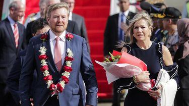 Koningspaar ontmoette ministers die getest worden op coronavirus