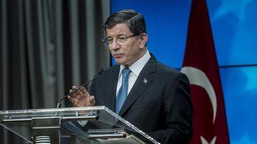 De Turkse premier Ahmet Davutoglu. Foto: ANP