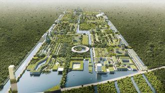 smart forest city, stefano boeri, zelfvoorzienende stad van de toekomst, architectuur