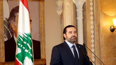 De soennitische premier van Libanon, Saad al-Hariri, trad vorige week onverwachts af. Foto: EPA | Dalati Nohra