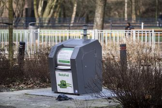 Baby gevonden in container in Amsterdam