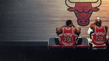 Foto van Michael Jordan in The Last Dance