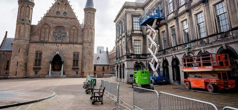 Foto van het Binnenhof