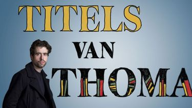 Boekenrubriek: Titels van Thomas