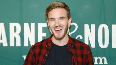 's Werelds populairste YouTube-ster PewDiePie last pauze in