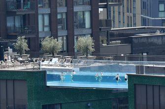Sky Pool hoogtevrees zwembad