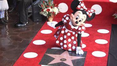 23 januari - Minnie Mouse op de Walk of Fame