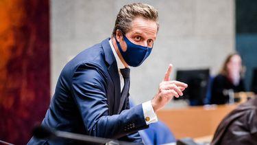 Zorgminister Hugo de Jonge.