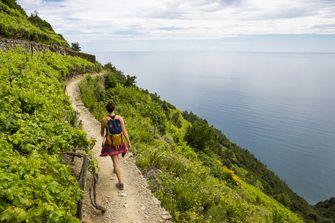 hiking, cinque terre
