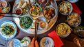 Foto van Chinees eten.
