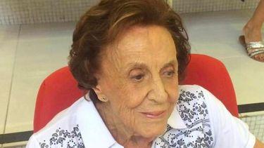 Op deze foto zie je de 104 jaar oude Ada Adelia Giovine