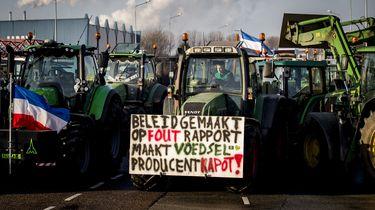 Woensdag weer boerenprotesten, mogelijk verkeershinder