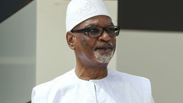 President Ibrahim Boubacar Keïta van Mali