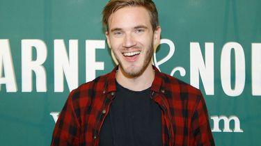 PewDiePie eerste Youtuber met 100 miljoen abonnees.
