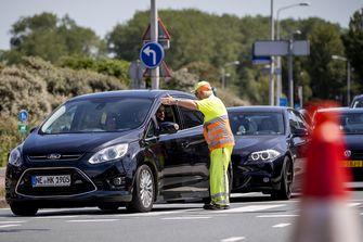 Foto van verkeersdrukte