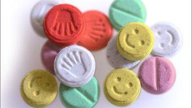 Een foto van XTC-pillen