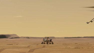 helikopter 'rond' Mars moet ons helpen planeet te verkennen