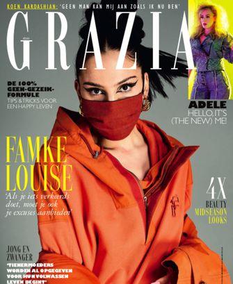 Een foto van de cover met Famke Louise