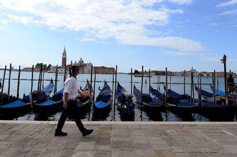 venetië, mondkapjes, reizen, grenzen, italië, open, fotos, toeristen