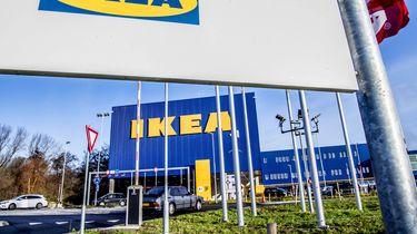 Exterieur van meubelgigant IKEA.