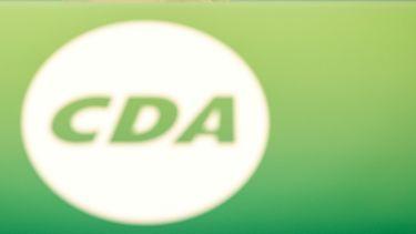 Het logo van het CDA, de partij die boos is op Staphorst