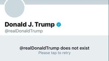 Twitter-medewerker haalt account Trump uit de lucht
