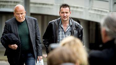 Arrold van Hurk en zijn advocaat Peter Plasman.
