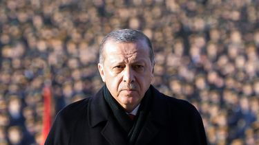 De Turkse president Recep Tayyip Erdogan. Foto: AFP
