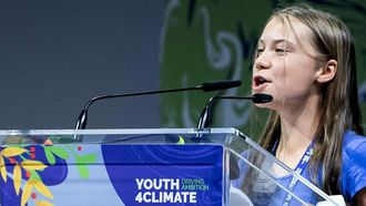Greta Thunberg Youth4Climate