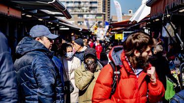 Haagse Markt per direct gesloten vanwege drukte