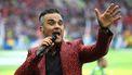 Robbie Williams was weer even samen met Take That