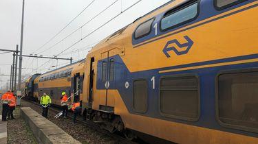 Trein deels ontspoord bij Den Haag