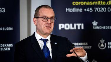 Op deze foto is Hans Kluge te zien, directeur Europa van de WHO.
