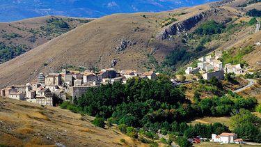 Dit is het dorpje Santo Stefano