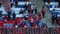 Een foto van publiek bij de Deense bekerfinale