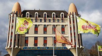 Een foto van het hotel in de Efteling