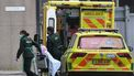 Een ambulance in Engeland.