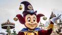 Op deze foto zie je Pardoes de mascotte van de Efteling.