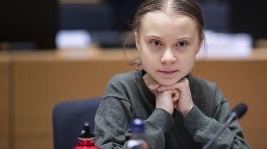 Greta Thunberg staakt tegen Europese Green Deal
