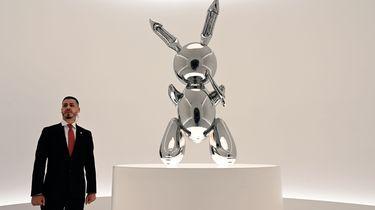 80 miljoen voor kunstkonijn van Jeff Koons