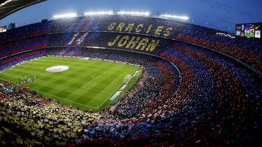FC Barcelona onthult standbeeld van Johan Cruijff