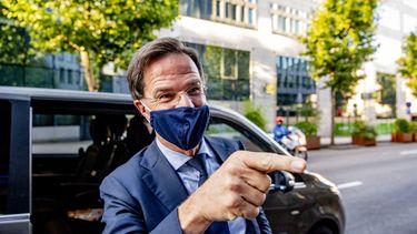 Foto van premier Rutte